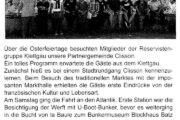 Reservistengruppe Klettgau zu Gast in Clisson