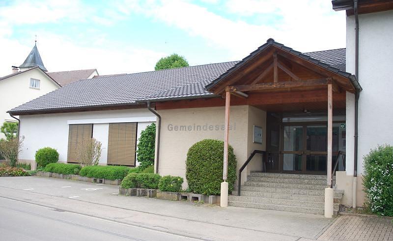Gemeindehalle Geißlingen