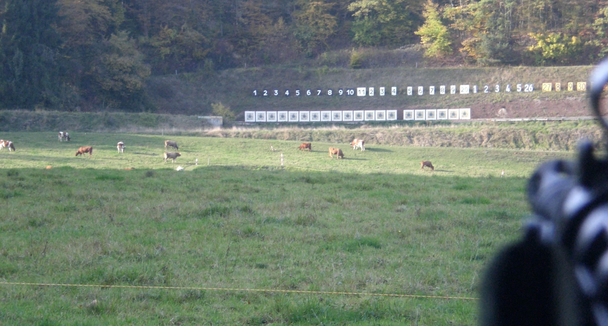 Schießanlage Sichtern Liestal